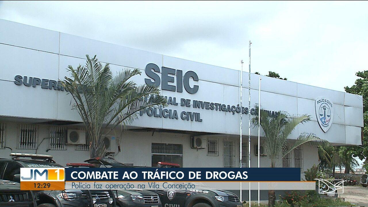 Operação prende quatro pessoas por tráfico de drogas em São Luís