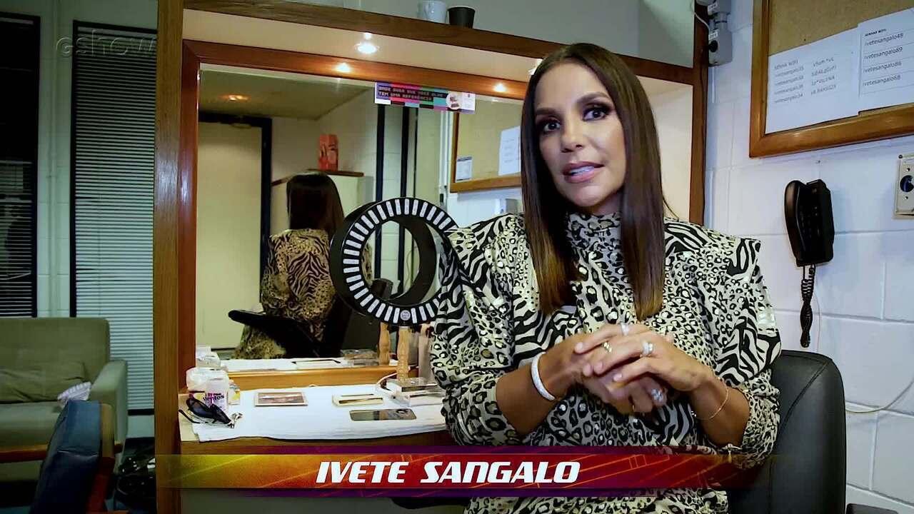 Ivete Sangalo fala de seu jeito descontraído para lidar com os participantes no The Voice