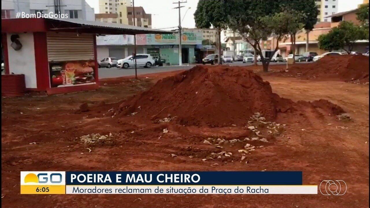Revitalização de praça se transforma em dor de cabeça para moradores de Goiânia