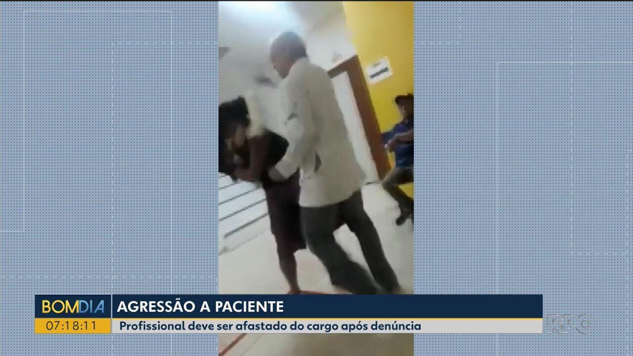 Prefeitura afasta técnico de enfermagem após vídeo de agressão a paciente