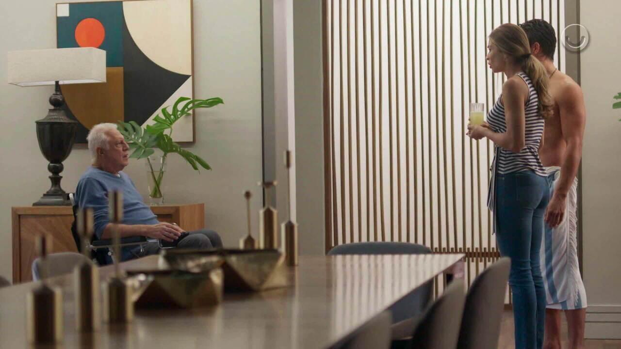 Teaser 'Bom Sucesso' 21/8: Alberto descobre a verdade sobre Marcos e Paloma