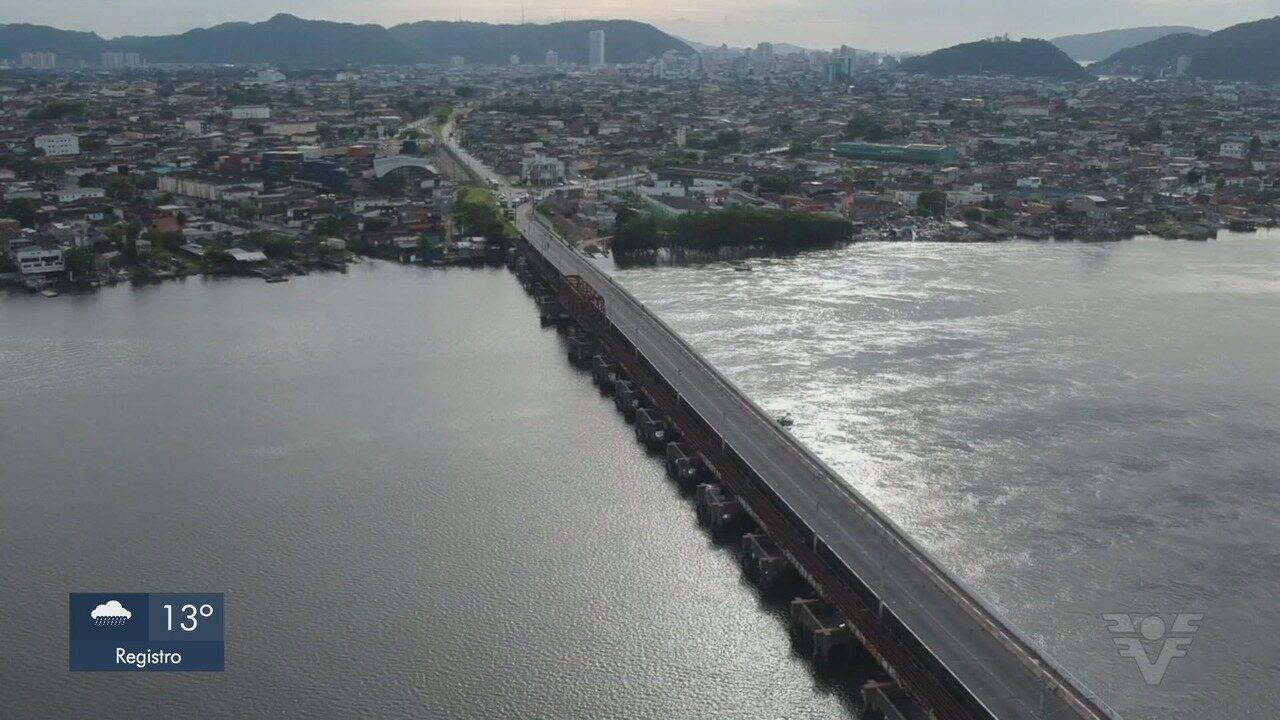 Prefeitura de São Vicente divulga resultado de laudo sobre a Ponte dos Barreiros