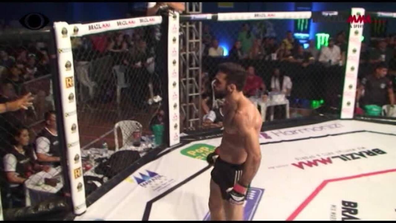 Filipe Esteves vence Rildeci Escorpião por finalização no Brazil MMA