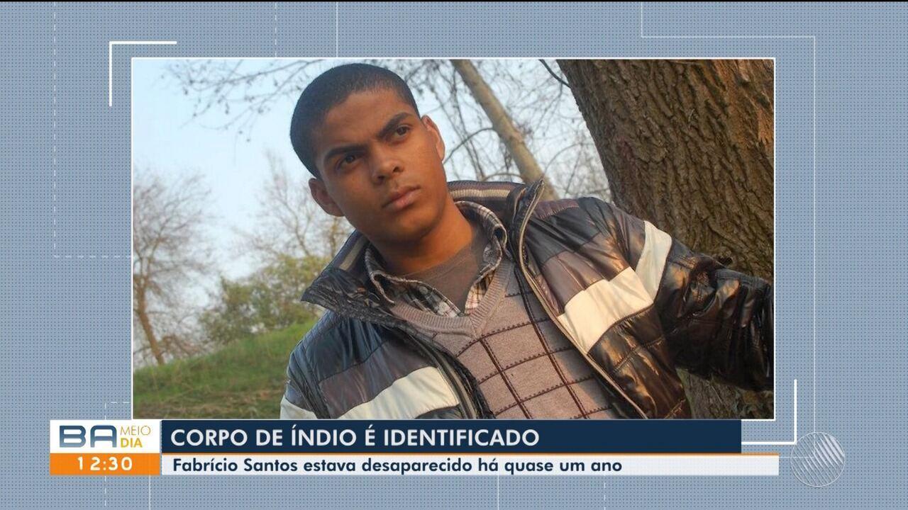 Corpo de índio pataxó morto é reconehcido pela família em Santa Cruz Cabrália