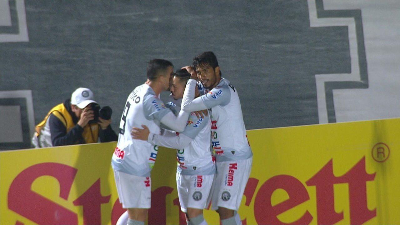 O gol de Operário-PR 1 x 0 Guarani pela 17ª rodada da Série B