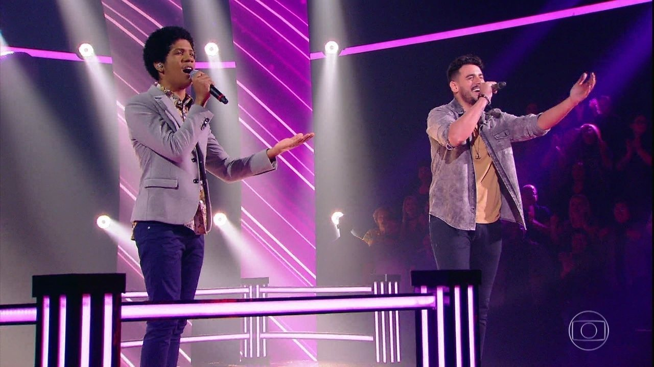 """Fernando Junior e Samuel Marques cantam """"Coisa de Pele"""""""