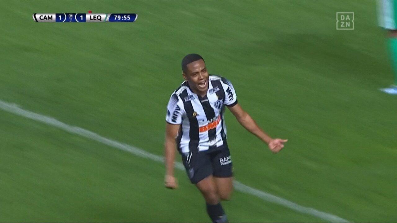 Melhores momentos de Atlético-MG 2 x 1 LA Equidad pelas quartas de final da Sul-Americana