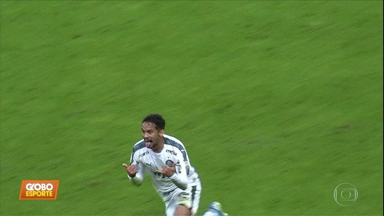 Palmeiras vence Grêmio no primeiro jogo da Libertadores