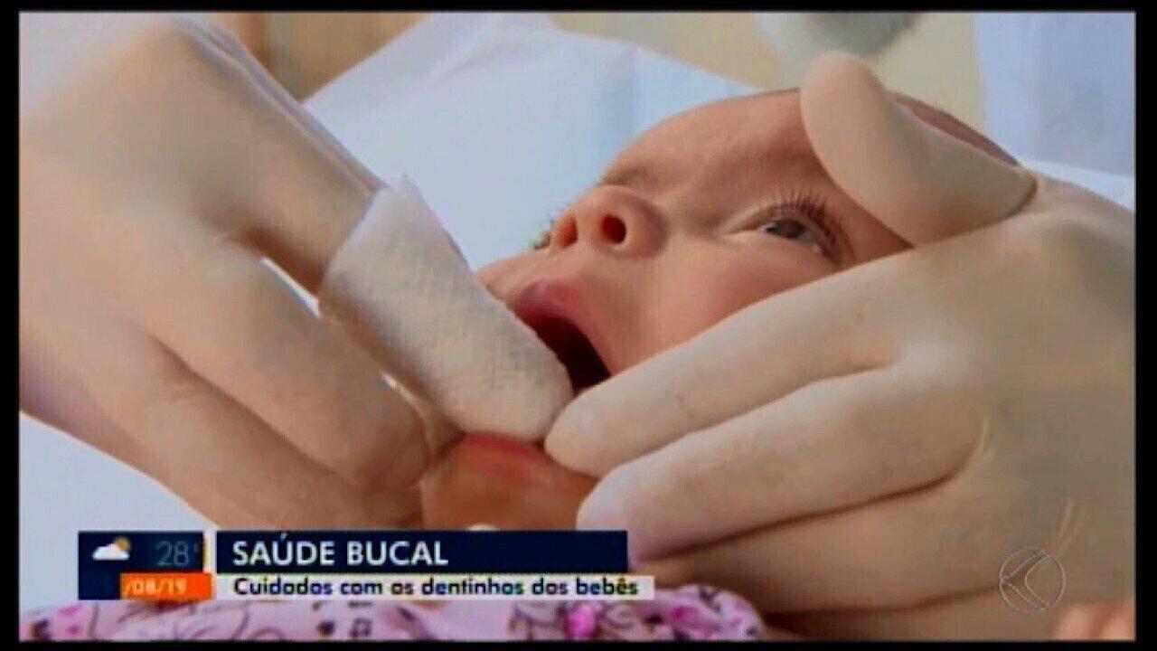 ESF Morada Nova promove higiene bucal para gestantes e bebês em Divinópolis
