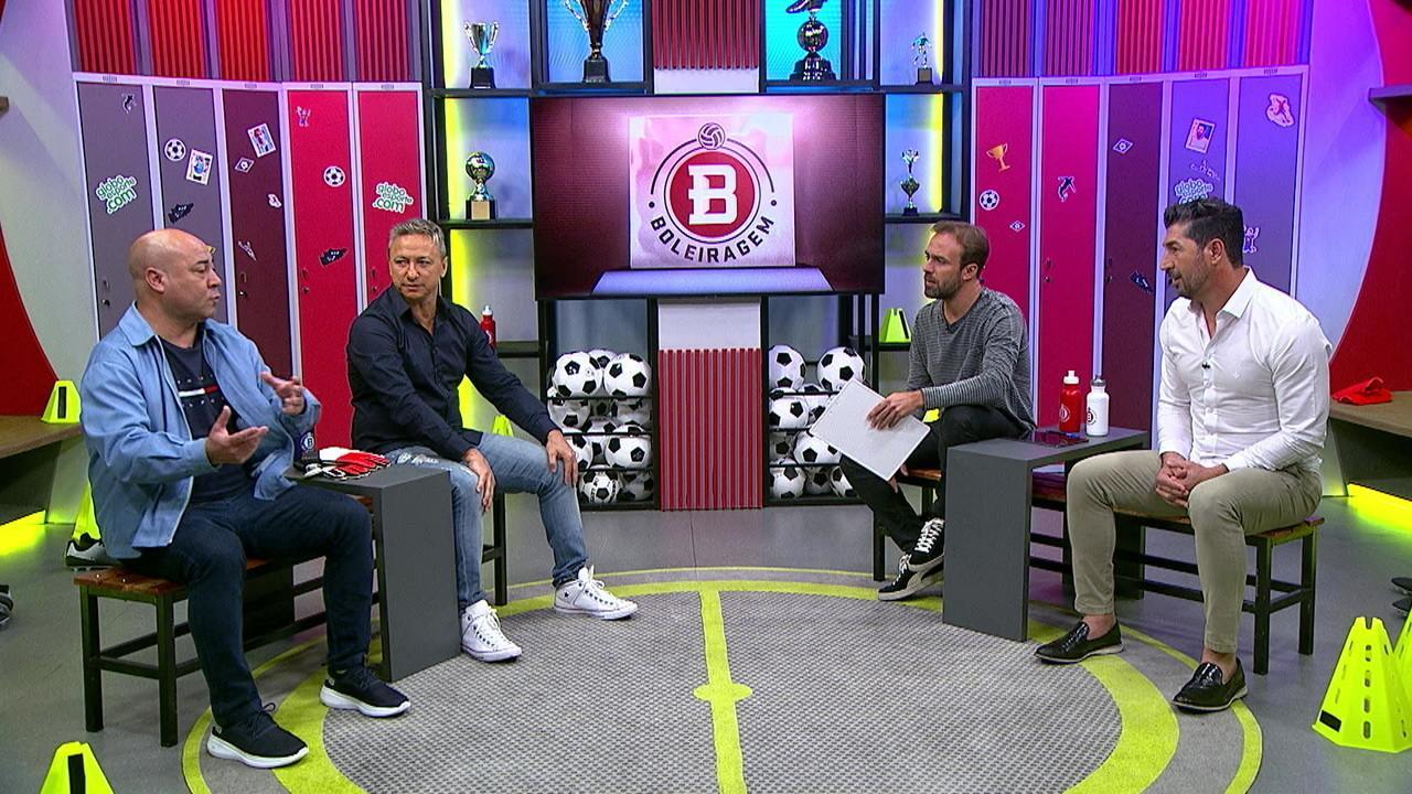 Boleiragem recebe Arílson, ex-Grêmio, Sérgio, ex-Palmeiras, e Paulo Nunes