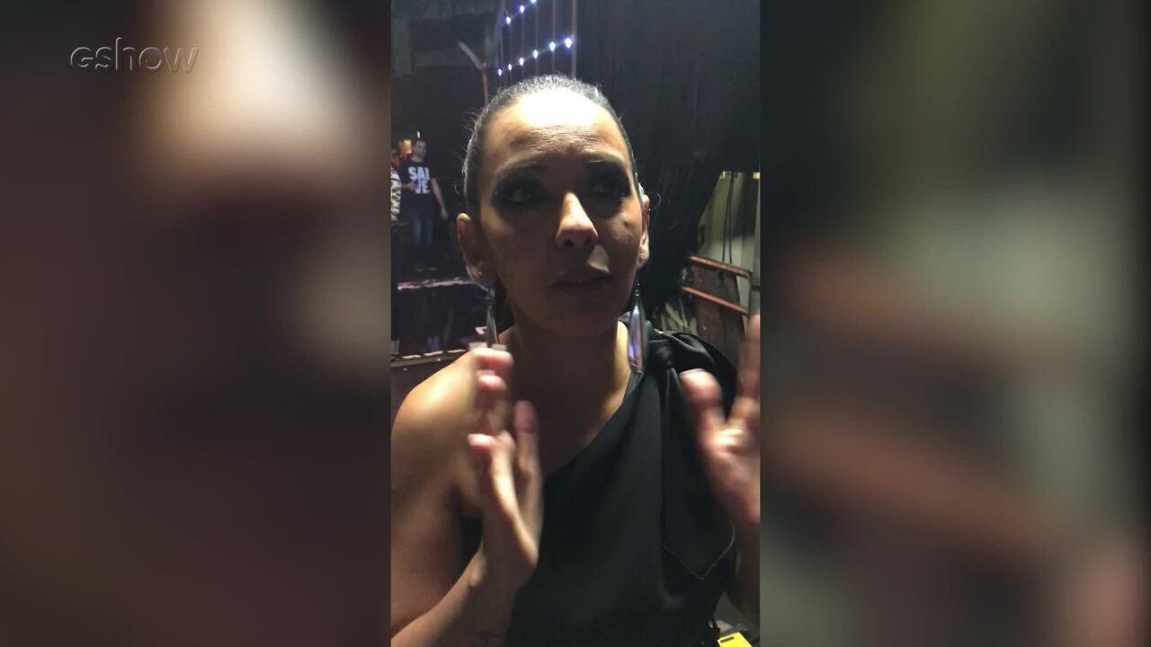 Jeovanni Alcântara e Luna Labelle falam sobre gravação no Caldeirão do Huck