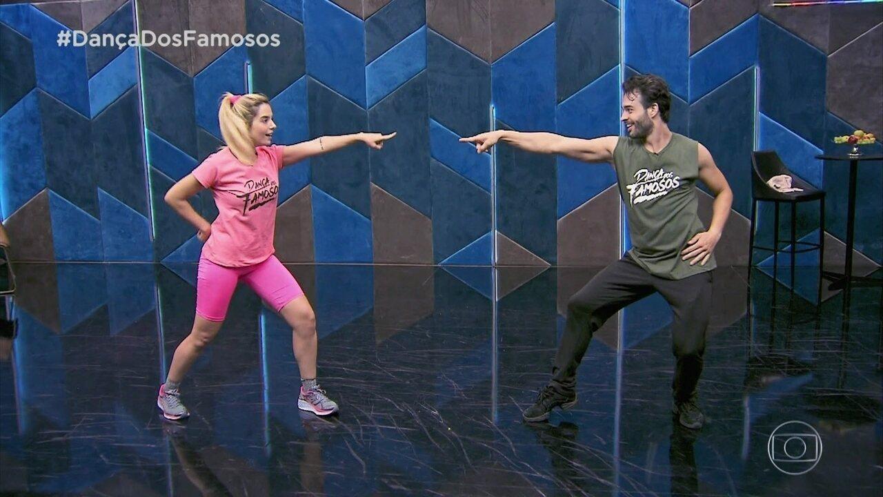 Veja como foi o ensaio de Giovanna Lancellotti para a 'Dança dos Famosos'