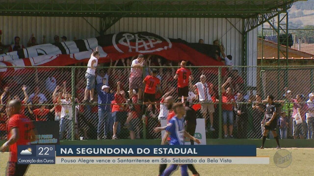 Pouso Alegre bate o Santarritense Bela Vista pela Segundona do Mineiro