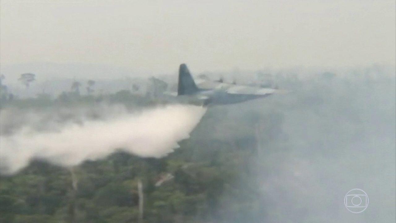Aeroporto de Porto Velho fica fechado por causa de concentração de fumaça