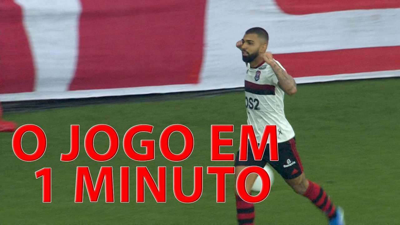 Os gols, os lances, a festa... a classificação do Flamengo em 1 minuto