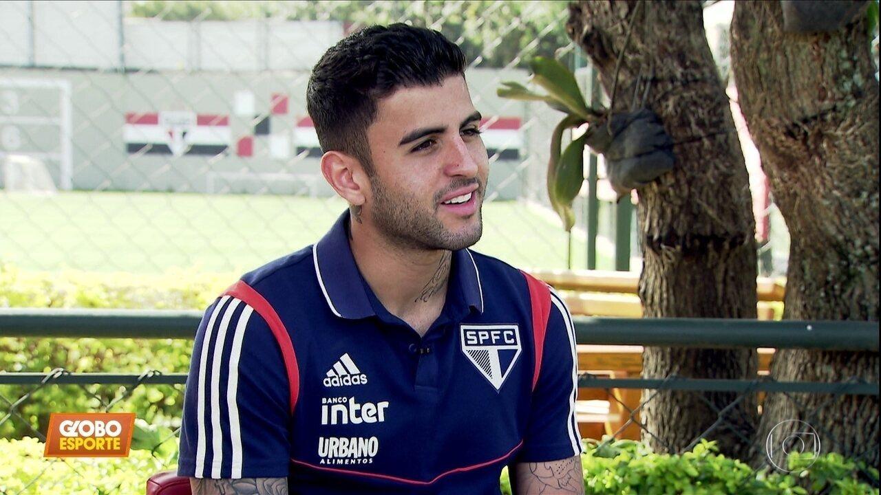 Veja como foi a entrevista de Liziero antes do retorno aos gramados