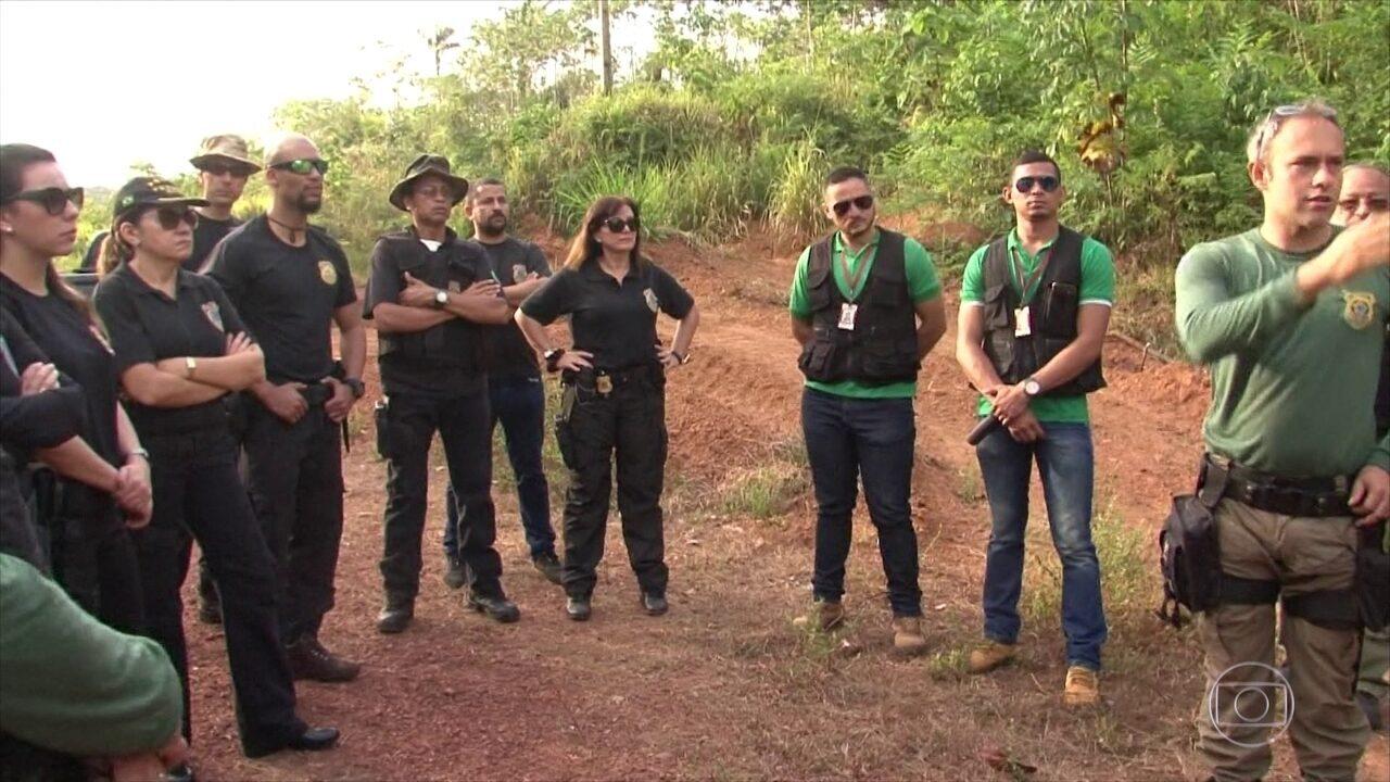 Polícia do Pará faz operação para prender pessoas envolvidas em crimes ambientais