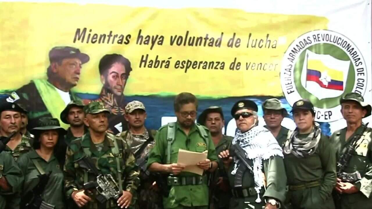 Líder das Farc anuncia volta do conflito armado na Colômbia