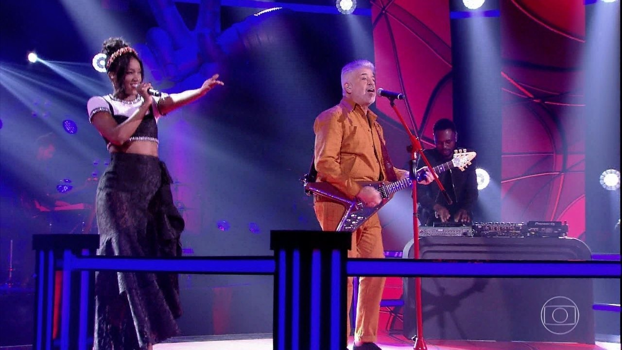 """Lulu Santos e IZA cantam """"Condição"""""""