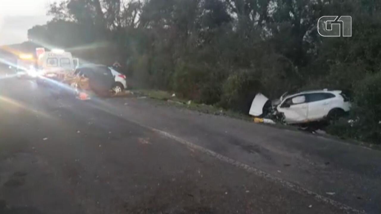 Acidente entre dois veículos deixa mortos na BR-386, em Soledade