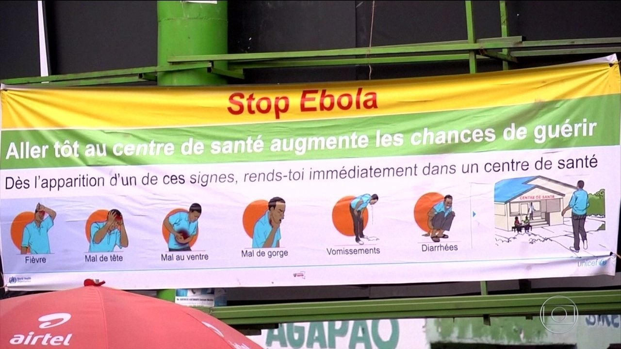 Resultado de imagem para República do Congo sofre com epidemia de Ebola