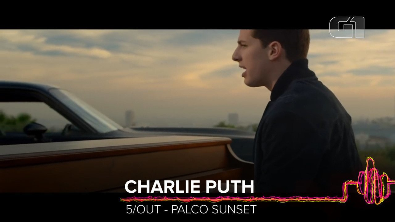 Charlie Puth: como será o show no Rock in Rio?