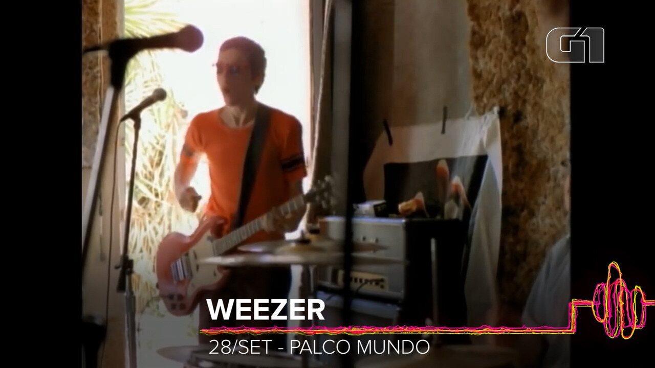 Weezer: Como será o show no Rock in Rio 2019?