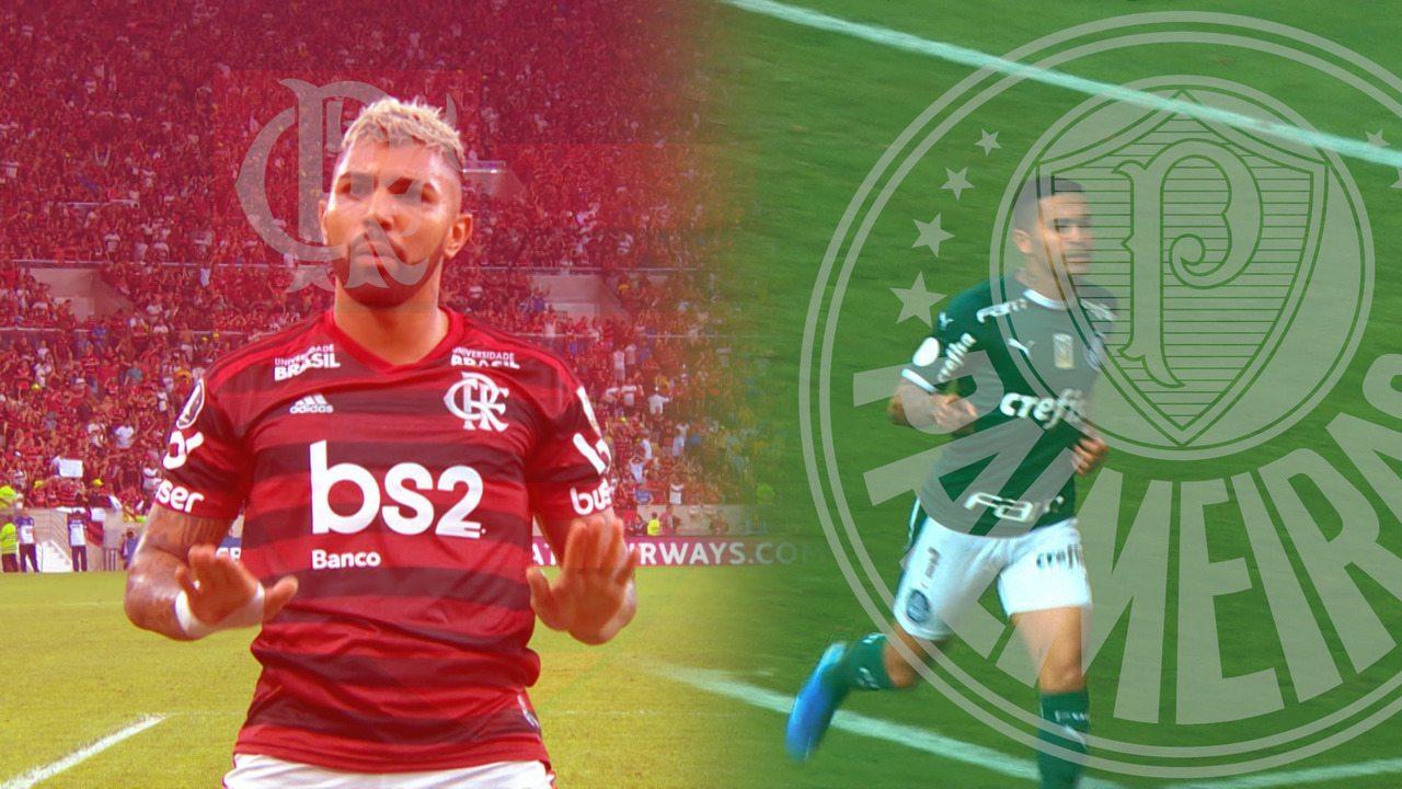Resultado de imagem para flamengo x Palmeiras