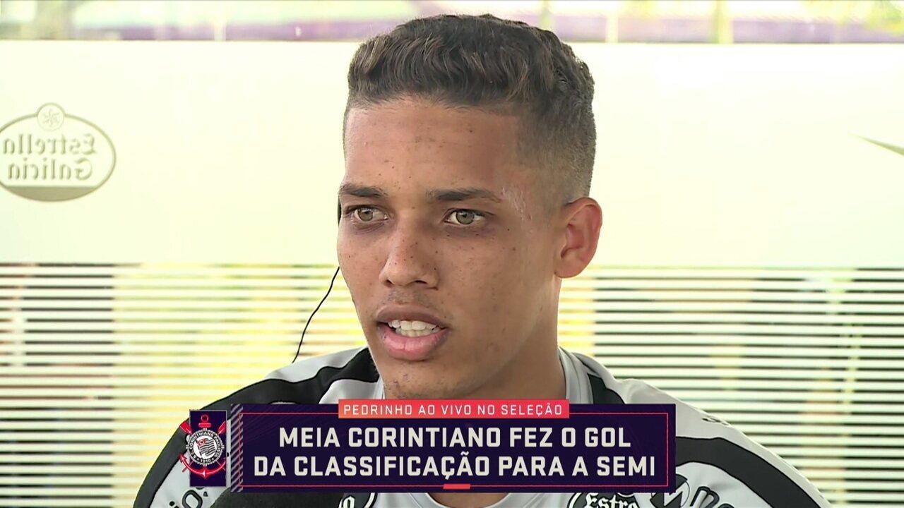 Relembre entrevista de Pedrinho depois de ser o herói da classificação à semi da Sul-Americana
