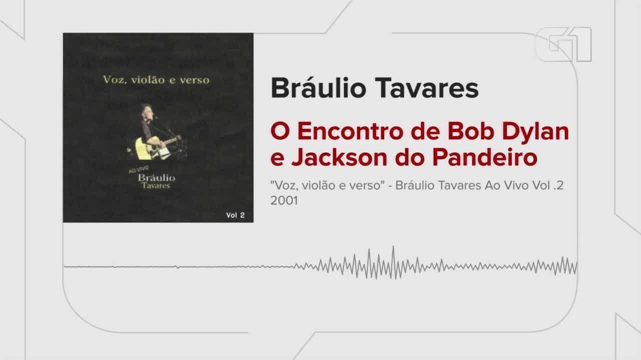 Ouça o encontro de Jackson do Pandeiro e Bob Dylan por Bráulio Tavares