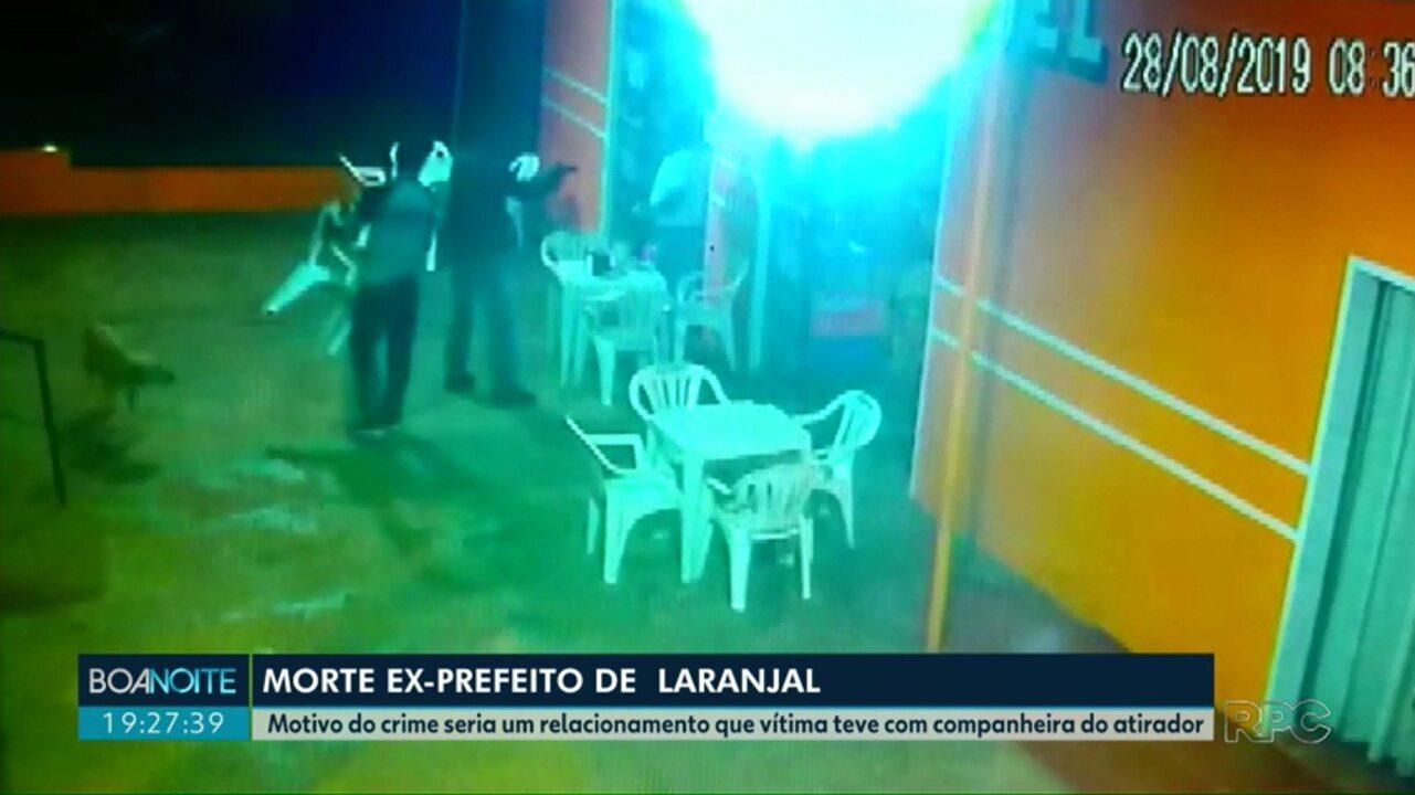 Segundo Polícia de Laranjal, briga amorosa teria motivado assassinato de ex-prefeito