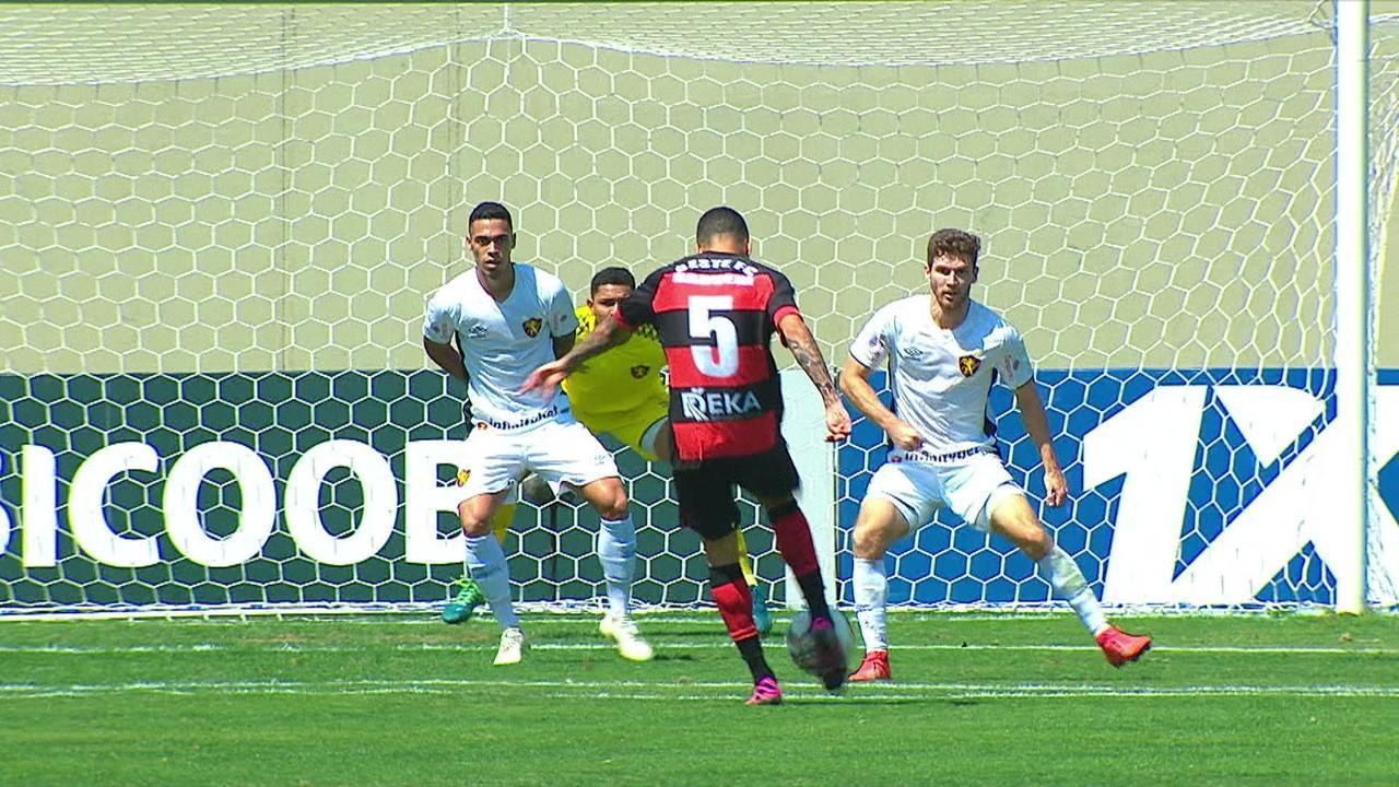 Melhores momentos: Oeste 0 x 0 Sport pela 20ª rodada do Brasileirão Série B