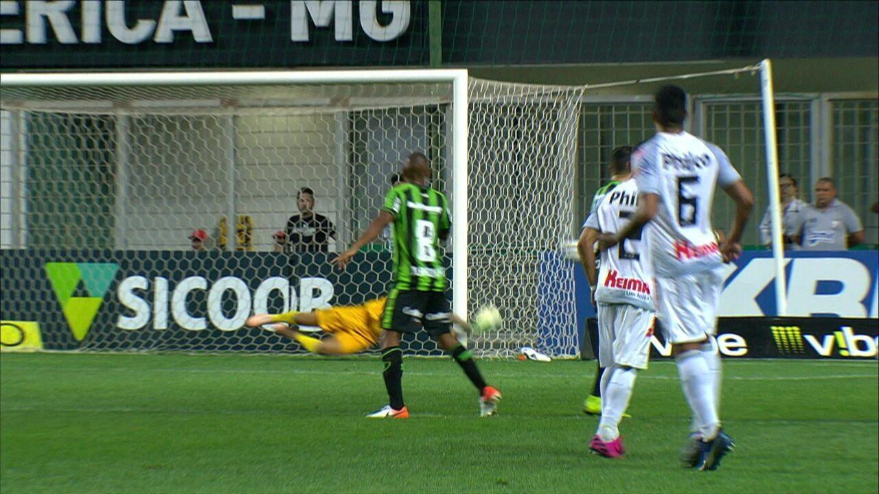 Melhores momentos: América-MG 0 x 0 Operário-PR pela 20ª rodada do Campeonato Brasileiro Série B