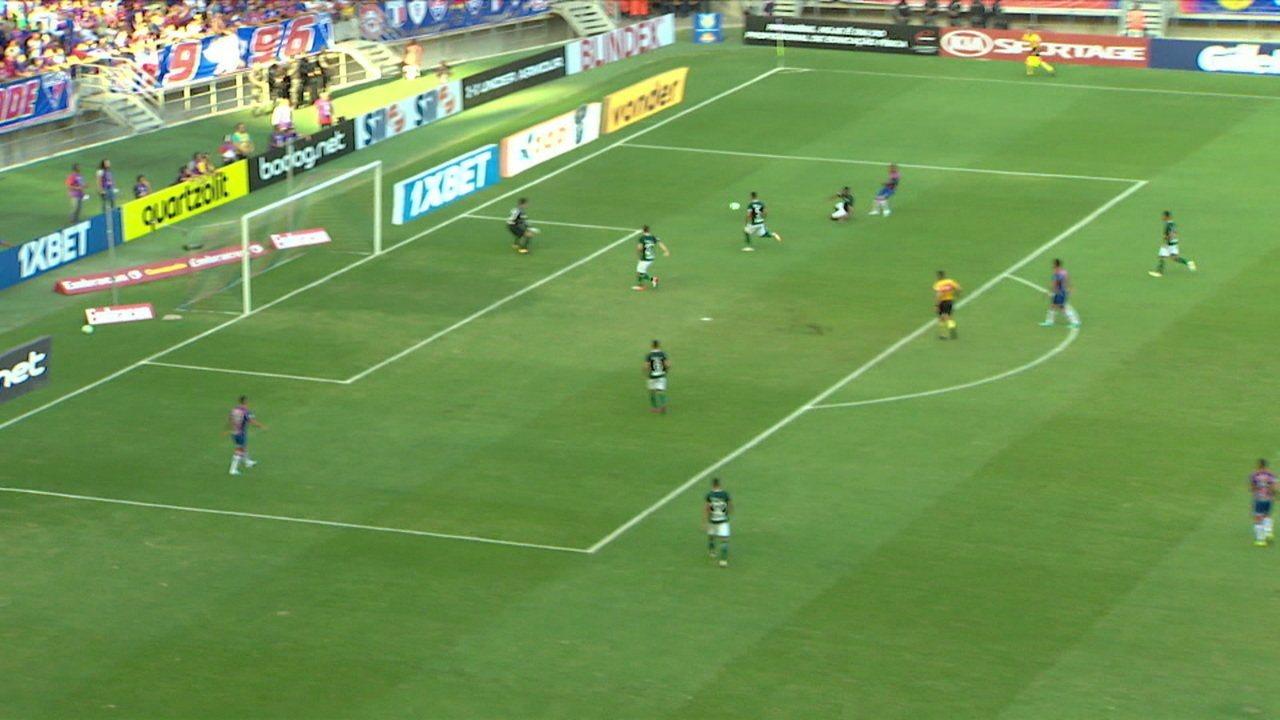 Melhores momentos de Fortaleza 2 x 0 Goiás pela 17ª rodada do Campeonato Brasileiro