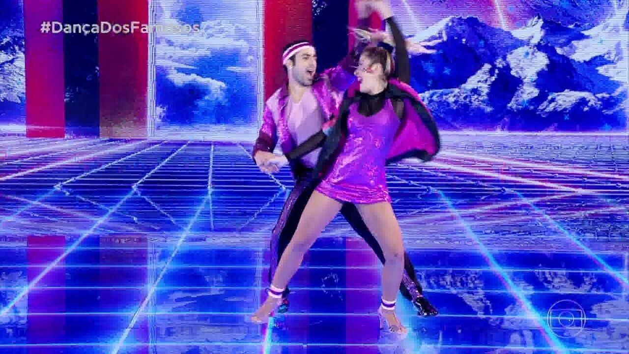 Reveja a estreia de Kaysar Dadour no 'Dança dos Famosos', ao lado da professora Mayara Araújo
