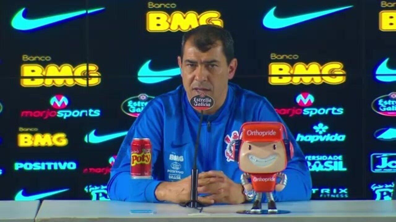Após vitória sobre o Atlético-MG, Carille disse que Timão briga pelo título
