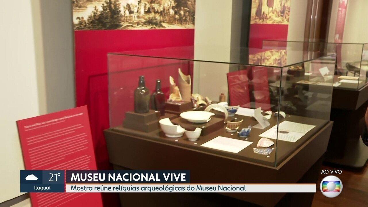 Um ano do incêndio no Museu Nacional