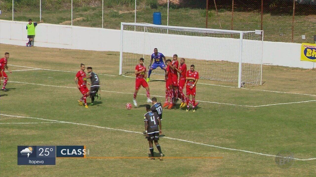 Atlético de Três Corações perde para o Figueirense-MG pela Segundona do Mineiro