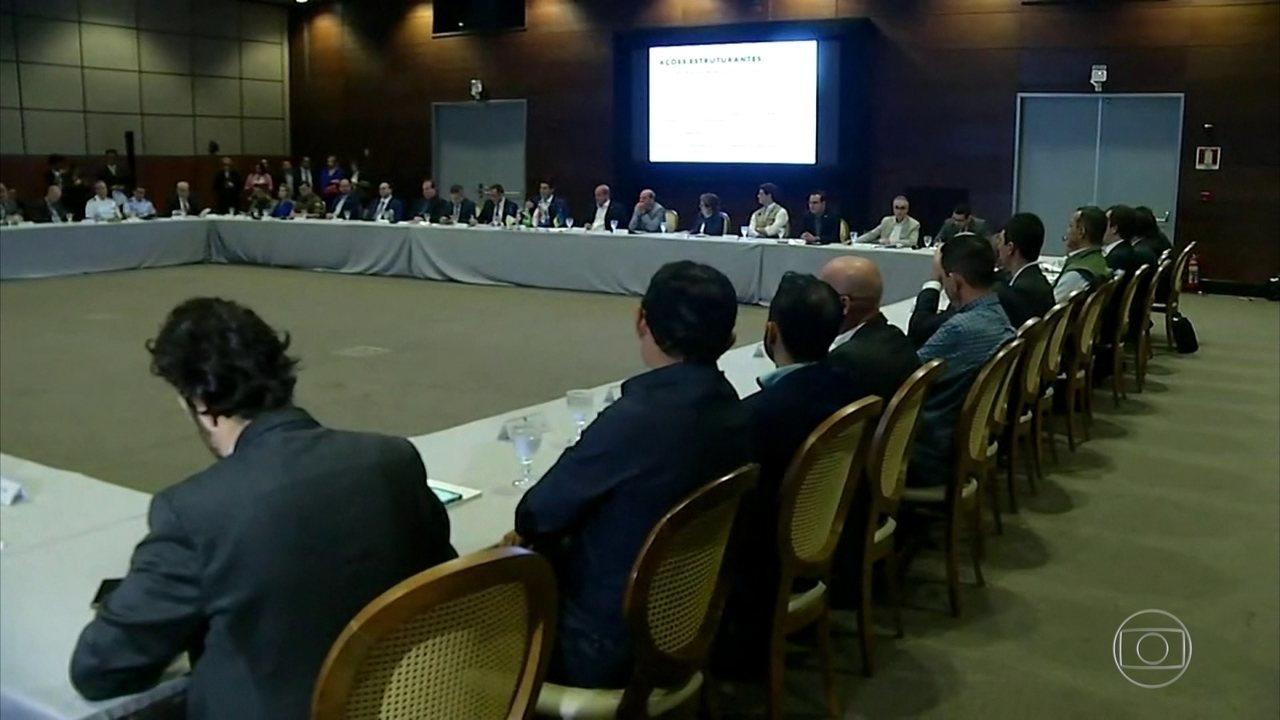 Cinco ministros e governadores da Amazônia se reúnem para discutir combate ao desmatamento