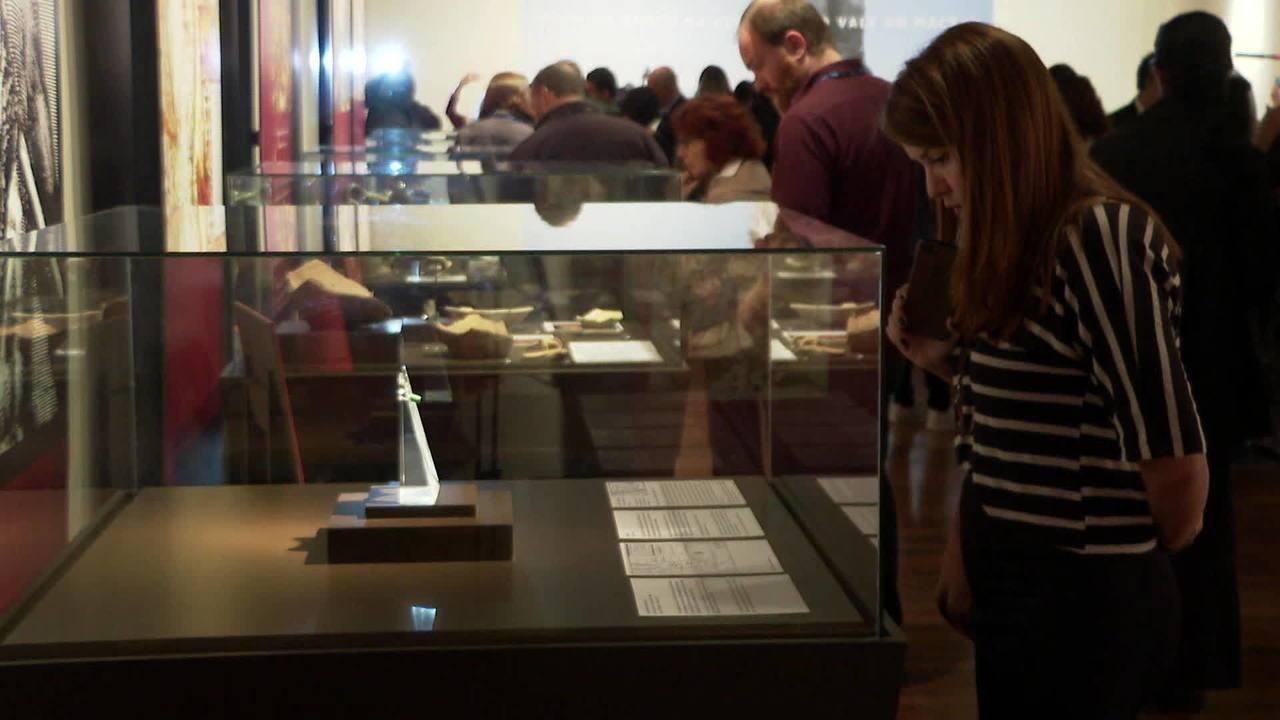 Exposição marca um ano do incêndio no Museu Nacional