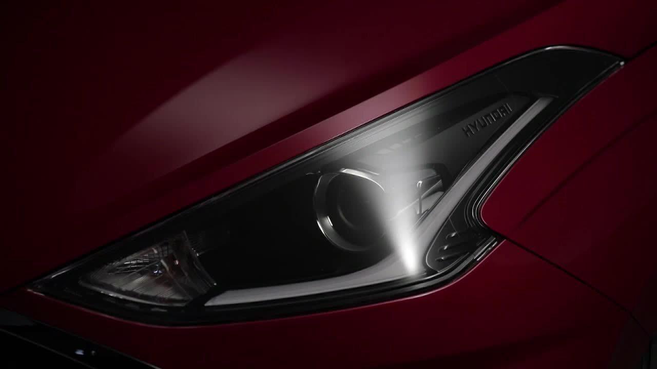 Hyundai mostra primeiro teaser do novo HB20