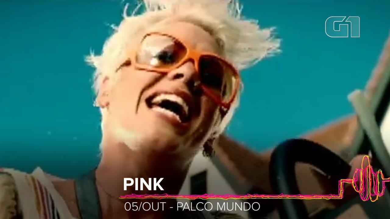 Pink: Como será o show no Rock in Rio 2019?