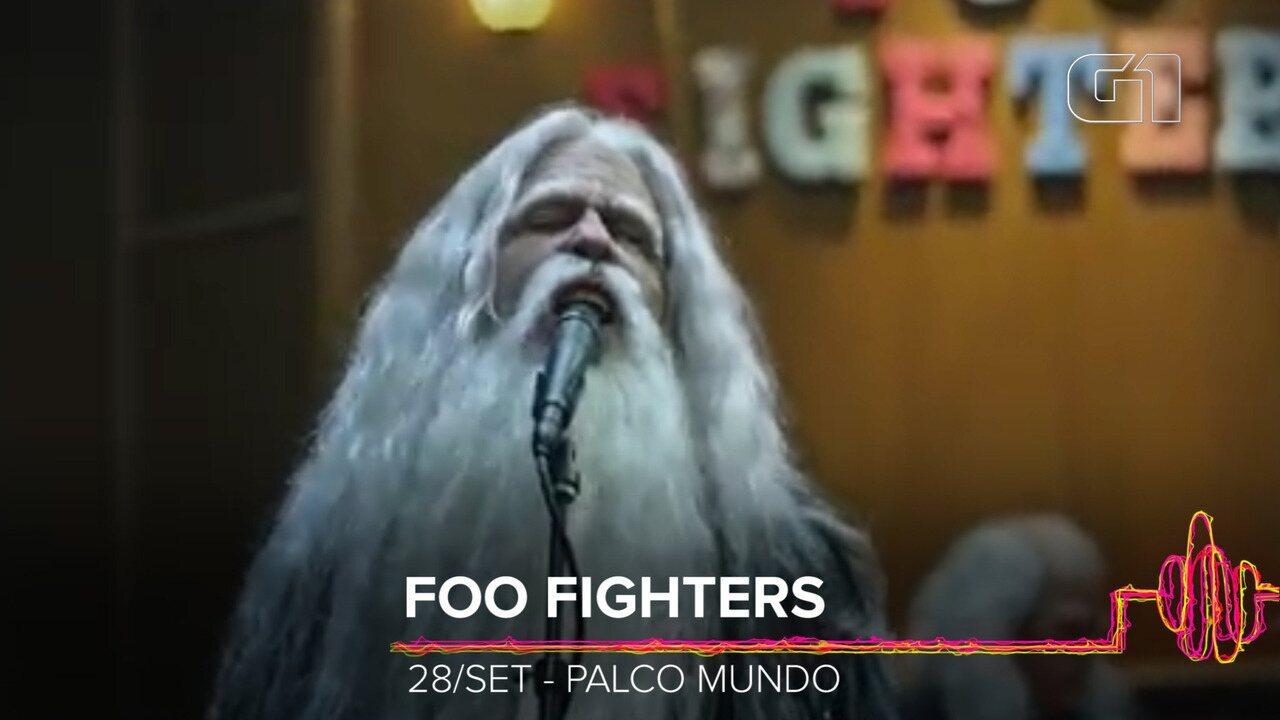 Foo Fighters: Como será o show no Rock in Rio 2019?