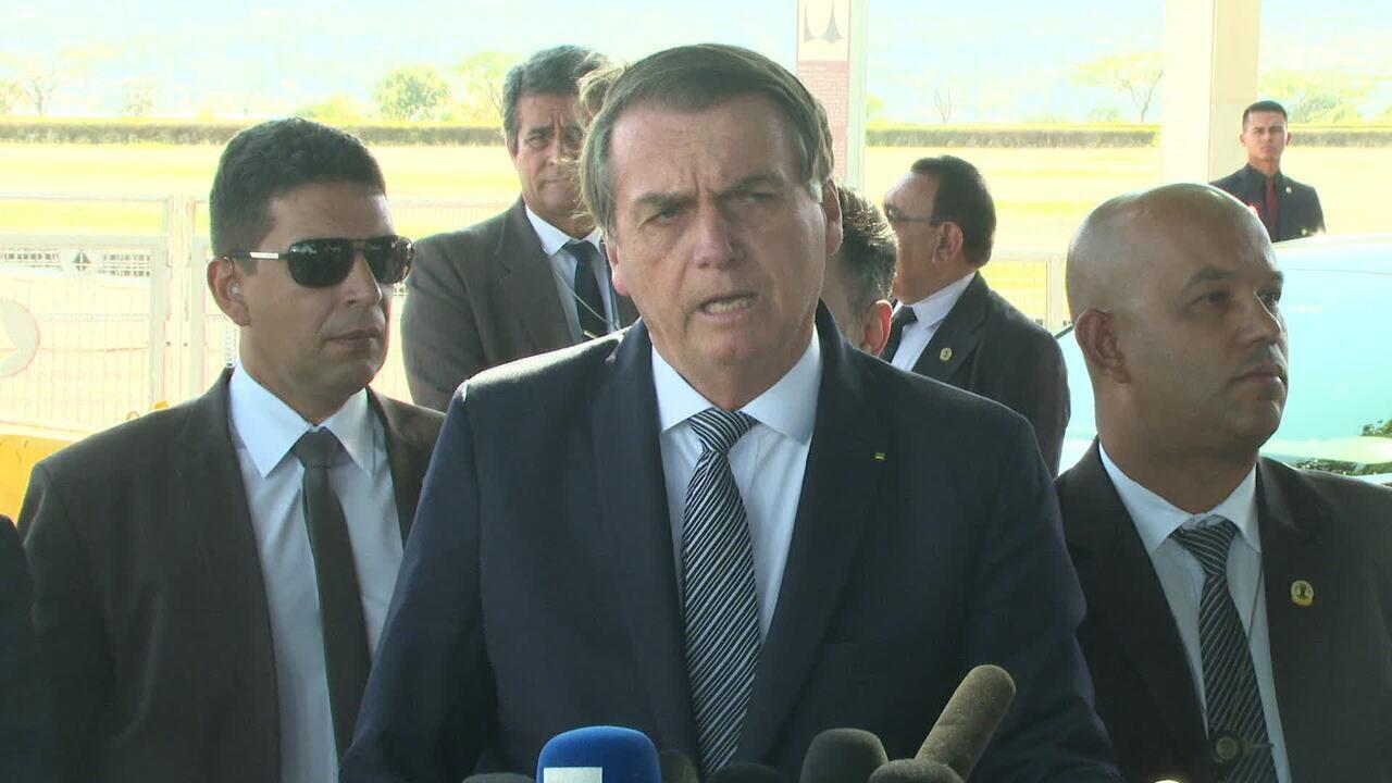 Bolsonaro diz que deve vetar quase 20 pontos do projeto sobre abuso de autoridade