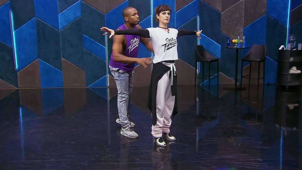 Veja o ensaio de Fernanda Abreu com Igor Maximiliano no 'Dança dos Famosos' no forró