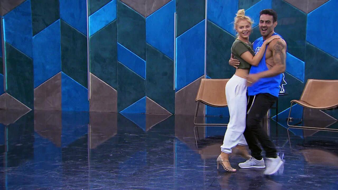 Veja o ensaio de Luisa Sonza com Léo Santos no 'Dança dos Famosos' no forró