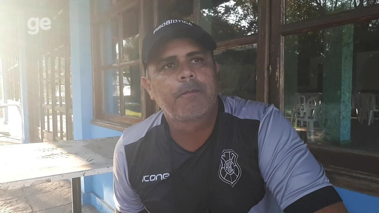 Após a chegada de Robert, técnico do Rio Branco-ES muda o time para o duelo com o Sport-ES
