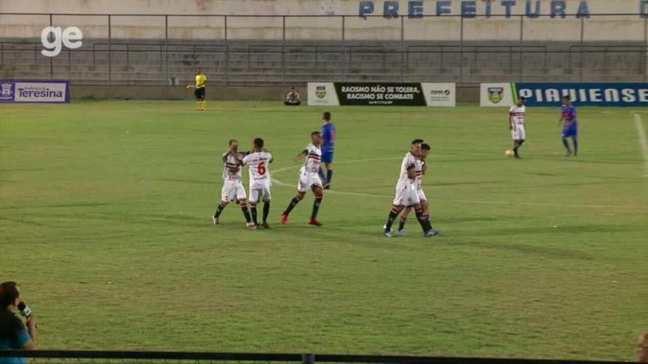 De virada, River-PI vence o Piauí e garante vaga na Copa do Brasil e do Nordeste sub-17