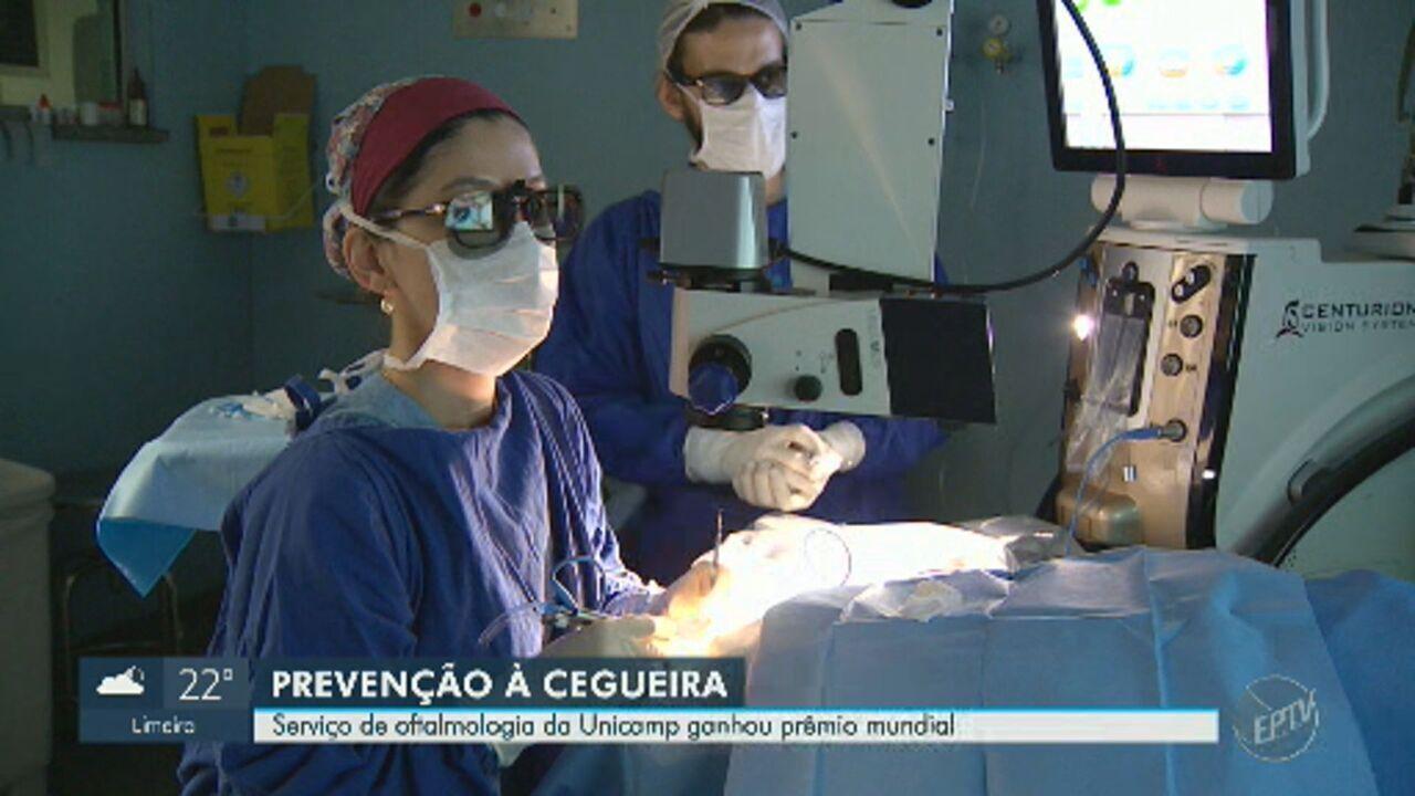 Serviço de oftalmologia da Unicamp ganha prêmio mundial de prevenção à cegueira