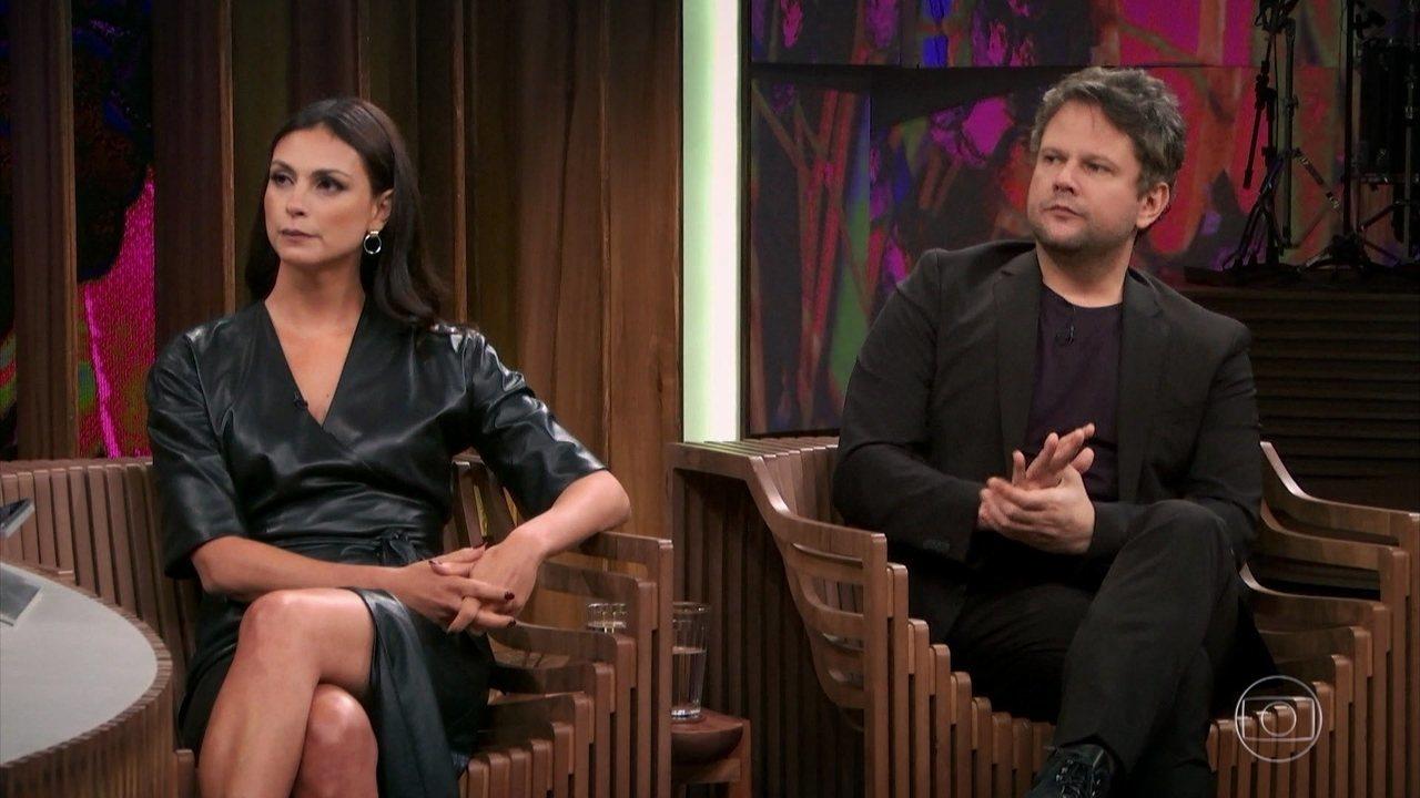Morena e Selton destacam crescimento das séries no mundo